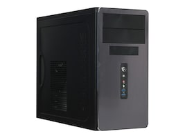 Rosewill R521-M MT Case 90mm Fan 400W PSU Black, R521-M, 33425751, Cases - Systems/Servers