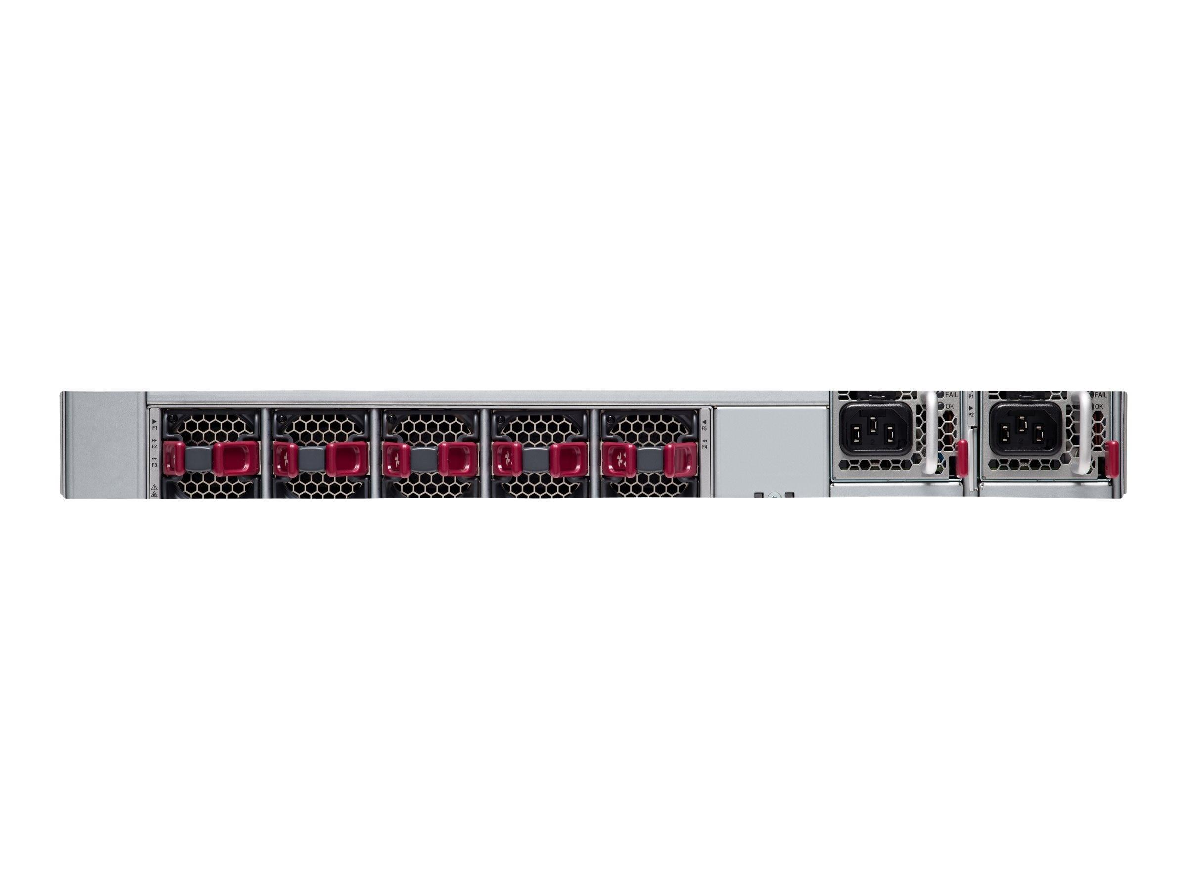 Cisco Nexus 93240YC-FX2 2U RM L3 Managed Switch 24GB RAM 128GB SSD 48x25GbE  12x100GbE 2xPSU