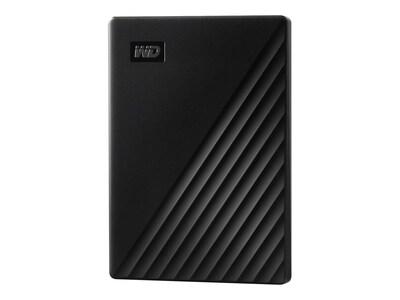 Western Digital 1TB My Passport USB 3.2 Gen 1 Portable Hard Drive - Black, WDBYVG0010BBK-WESN, 37522161, Hard Drives - External