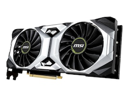 Microstar GeForce RTX 2080 Ti VENTUS PCIe Overclocked Graphics Card, 11GB GDDR6, G208TV11C, 36168227, Graphics/Video Accelerators