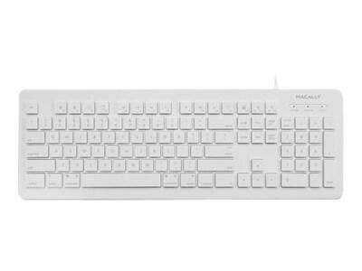 Macally 104-Key Wired USB Keyboard for Mac & PC, MKEYX, 32225482, Keyboards & Keypads