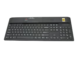 KSI BLACK 104 USB KB W TCS1 FINGERPRINT READER, CLEANING      BUTTON & SEALED, KSI-1700 SX FFFB, 38389146, Keyboards & Keypads