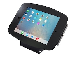 Compulocks iPad Enclosure Kiosk, Space Wall or Desk Mount, iPad Kiosk , fits iPad 2 3 4 , Black, 101B224SENB, 16208367, Locks & Security Hardware