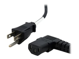 StarTech.com Standard Computer Power Cord, NEMA 5-15P to Right Angle C13, 6ft, PXT101L, 10147196, Power Cords