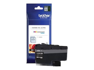 Brother Black LC3035BK INKvestment Tank Ultra High Yield Ink Cartridge, LC3035BK, 35855586, Ink Cartridges & Ink Refill Kits - OEM