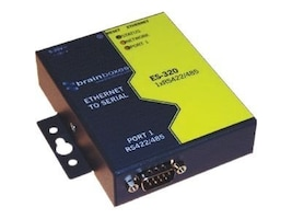Brainboxes 1-Port RS422 485 Ethernet to Serial Adapter, ES-320, 15280164, Adapters & Port Converters