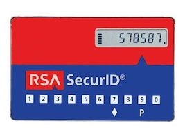 RSA 3-Year SecurID Authenticator SD520, 50-Pack, SD520-6-60-36-50, 12303480, Locks & Security Hardware