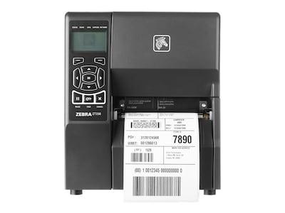 Zebra ZT230 TT 203dpi Serial USB Parallel Printer w  US Power Cord Plug, ZT23042-T01100FZ, 16331082, Printers - Label