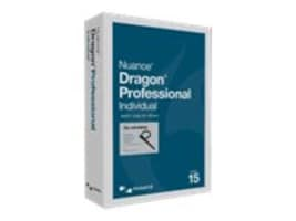 Nuance Dragon Professional Individual 15 DVD Wireless Spanish, K809S-XN9-15.0, 36305287, Software - Voice Recognition