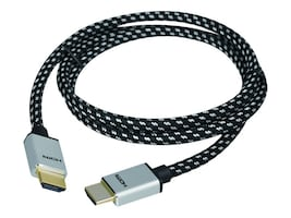 Siig Woven Braided High Speed HDMI M M Cable, 2m, CB-H20F12-S1, 32591167, Cables