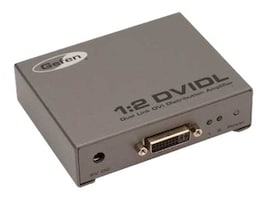 Gefen 1:2 Dual Link DVI Distribution Amplifier, EXT-DVI-142DLN, 17692736, Video Extenders & Splitters