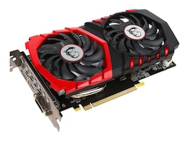 Microstar GeForce GTX 1050 Ti GAMING X Graphics Card, 4GB GDDR5, G1050TGX4, 33828453, Graphics/Video Accelerators