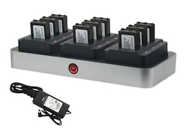 Zcover Unified Battery Multi-Charger Set for Polycom Spectralink Netlink, SK220U3B-NA, 16603009, AC Power Adapters (external)