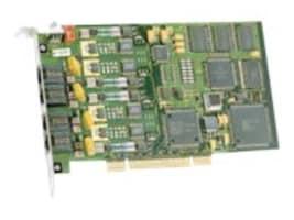 Dialogic D4PCIU4SEQ 310-936-50-4Pt. PCIe ROHS 6 6, 310-936-50, 10722621, Network Adapters & NICs