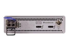 Atto 2-Port 40GB 3 to 1-Port 10GB SFP+ LC Transceiver, TLNS-3101-D00, 33763207, Network Transceivers