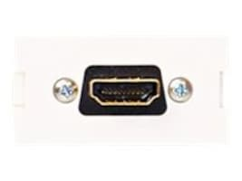 Leviton Multimedia Outlet System HDMI Insert, 41290-HDW, 14891617, Premise Wiring Equipment
