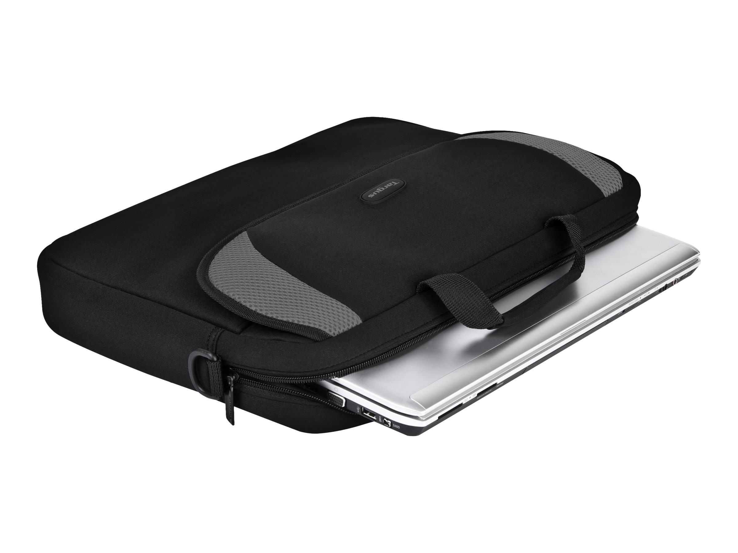 Targus 16 Notebook Sleeve, Black Gray, CVR200, 4838741, Carrying Cases - Notebook