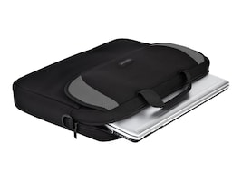 Targus 16 Notebook Sleeve, Black Gray, CVR200, 4838741, Carrying Cases - Notebook