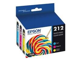 Epson Color 212 Ink Cartridge Multi-pack, T212520-S, 38398780, Ink Cartridges & Ink Refill Kits - OEM