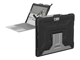 Urban Armor Metropolis Series Case for Microsoft Surface Go, Black, 321076114040, 35969170, Carrying Cases - Tablets & eReaders
