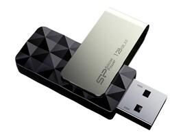 Silicon Power 128GB Blaze B30 USB 3.0 Flash Drive, Black, SP128GBUF3B30V1K, 17225530, Flash Drives