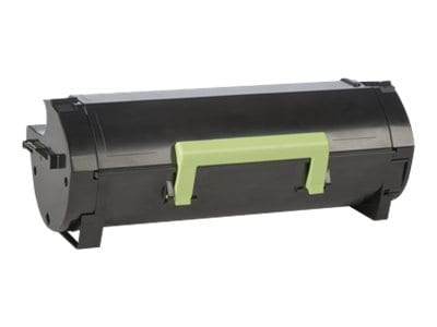 Lexmark Black 601H High Yield Return Program Toner Cartridge, 60F1H00, 14909063, Toner and Imaging Components - OEM