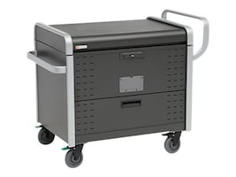 Bretford Manufacturing Toploader Charge Cart, 120VAC 12A, 40-Device, 1 Wide Slots, TL40PAC-G1AL, 34255651, Charging Stations