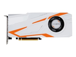 Gigabyte Tech GeForce GTX 1080 Ti Turbo PCIe 3.0 x16 Graphics Card, 11GB GDDR5, GV-N108TTURBO-11GD, 34235271, Graphics/Video Accelerators