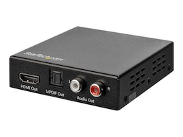 StarTech.com 4K HDMI Audio Extractor 4K 60Hz - HDR - Toslink Optical Audio, HD202A, 36799627, Scan Converters