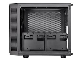 Thermaltake Chassis, Suppressor F1 Mini ITX Cube 2x2.5 Bays 2x3.5 Bays No PSU, Black, CA-1E6-00S1WN-00, 30941338, Cases - Systems/Servers