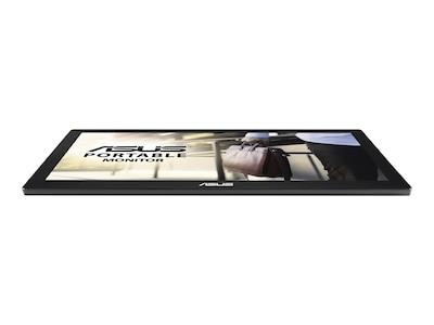Asus 15.6 MB168B Portable LED-LCD Monitor, Black, MB168B, 16294349, Monitors