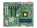 Supermicro Motherboard, X11SAE ATX C236 LGA 1151 E3-1200 v5 Family Max.64GB DDR4 8xSATA 2xGbE, MBD-X11SAE-O, 30870171, Motherboards