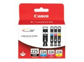 Canon PGI-225 CLI-226 4 Color Pack, 4530B008, 11647150, Ink Cartridges & Ink Refill Kits