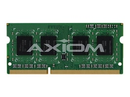 Axiom 4GB PC3-12800 DDR3 SDRAM SODIMM for Latitude E6540, A6909766-AX, 16233589, Memory