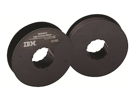 Lexmark Black High Contrast Printer Ribbons for IBM 6400 Models 050 P50 010 P10 015 & 6412 CT0 (6-pack), 1040998, 128903, Printer Ribbons