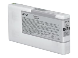 Epson Light Black UltraChrome HDR Ink Cartridge - 200ml for Stylus Pro 4900, T653700, 13135035, Ink Cartridges & Ink Refill Kits