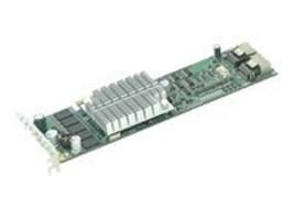 Supermicro PCI-E SAS 8-port Controller w  Intel IOP348 Processor, AOC-USASLP-S8IR, 8749833, Storage Controllers