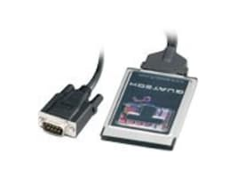 Quatech 1 port RS-232 serial PCMCIA card with attached cable, SSPR-100, 7537054, Controller Cards & I/O Boards