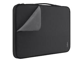 Belkin Slim Travel Sleeve for 15 Ultrabook, Black, B2B071-C00, 15755983, Carrying Cases - Notebook