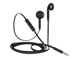 Targus iStore Classic Fit Earbuds - Luxe Matte Black, AEH03611CAI, 36453790, Earphones