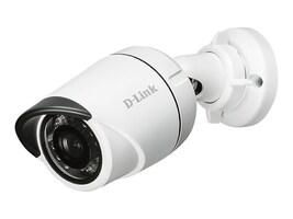 D-Link HD Outdoor Mini Bullet Camera, White, DCS-4701E, 30564018, Cameras - Security