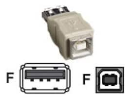 Black Box USB Type A to Type B F F Gender Changer, FAUSB06, 34467645, Cable Accessories