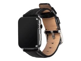 Targus Deen Leather Band for Apple Watch, 42mm 44mm, Black, SXD013NPUS, 37235057, Wearable Technology - Apple Watch Series 4-5