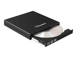 Aluratek 8x External Slim DVD USB 2.0 External Burner w  Tray Load, AEOD100F, 33212456, DVD Drives - External