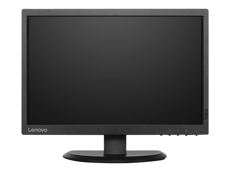 Lenovo 19.5 E2054 LED-LCD ThinkVision Monitor, Black, 60DFAAR1US, 30935827, Monitors