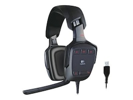 Labtec G35 Surround Sound Gaming Headset, 981-000116, 9512096, Headsets (w/ microphone)