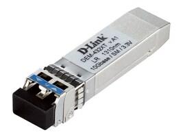 D-Link 10GBase-LR SFP+ 1310nm 10km SMF Transceiver, DEM-432XT, 35008686, Network Transceivers