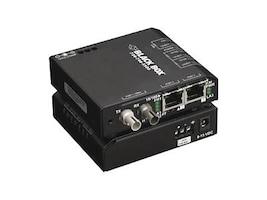 Black Box FE Copper to FE Fiber Media Converter Switch, MM, ST, LBH100A-ST, 6978579, Network Transceivers