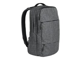 Incipio Incase City Backpack for 17 MacBook Pro, Heather Black Gunmetal Gray, CL55569, 32635772, Carrying Cases - Notebook