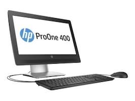 HP ProOne 400 G2 AIO Pentium G4400 3.3GHz 4GB 500GB DVDRW GbE ac BT WC 20 HD W7P64-W10P, W5Y42UT#ABA, 32262224, Desktops - All-in-One